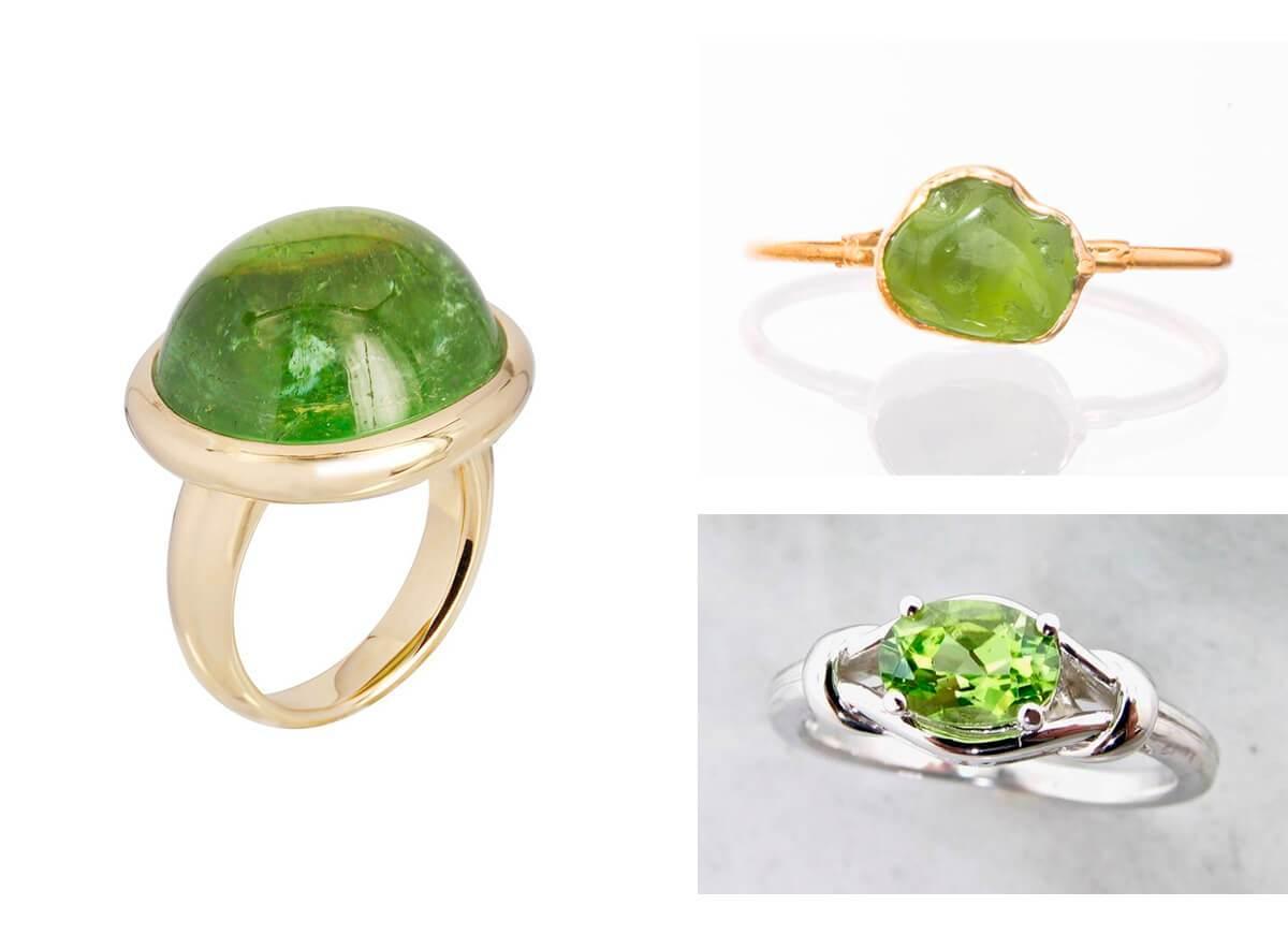 alternative gemstones engagement rings