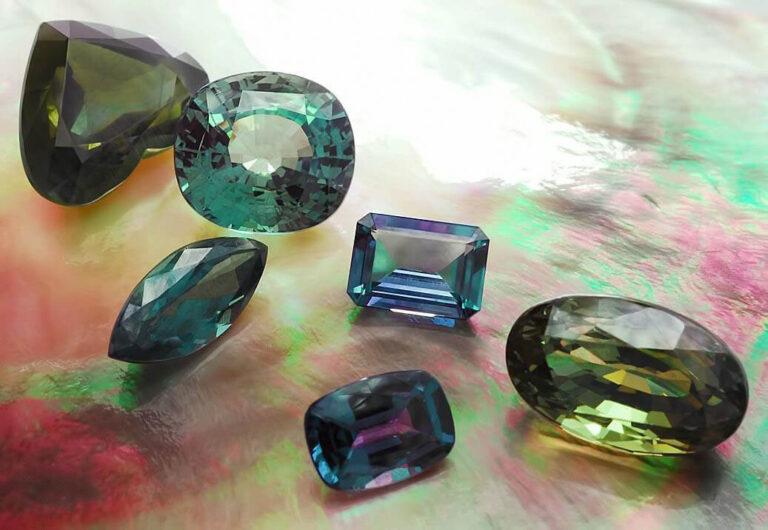 lab-created alexandrites