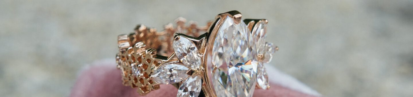 one of a kind engagement rings